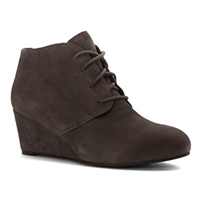 Vionic Womens Elevated Becca Wedge Lace-Up