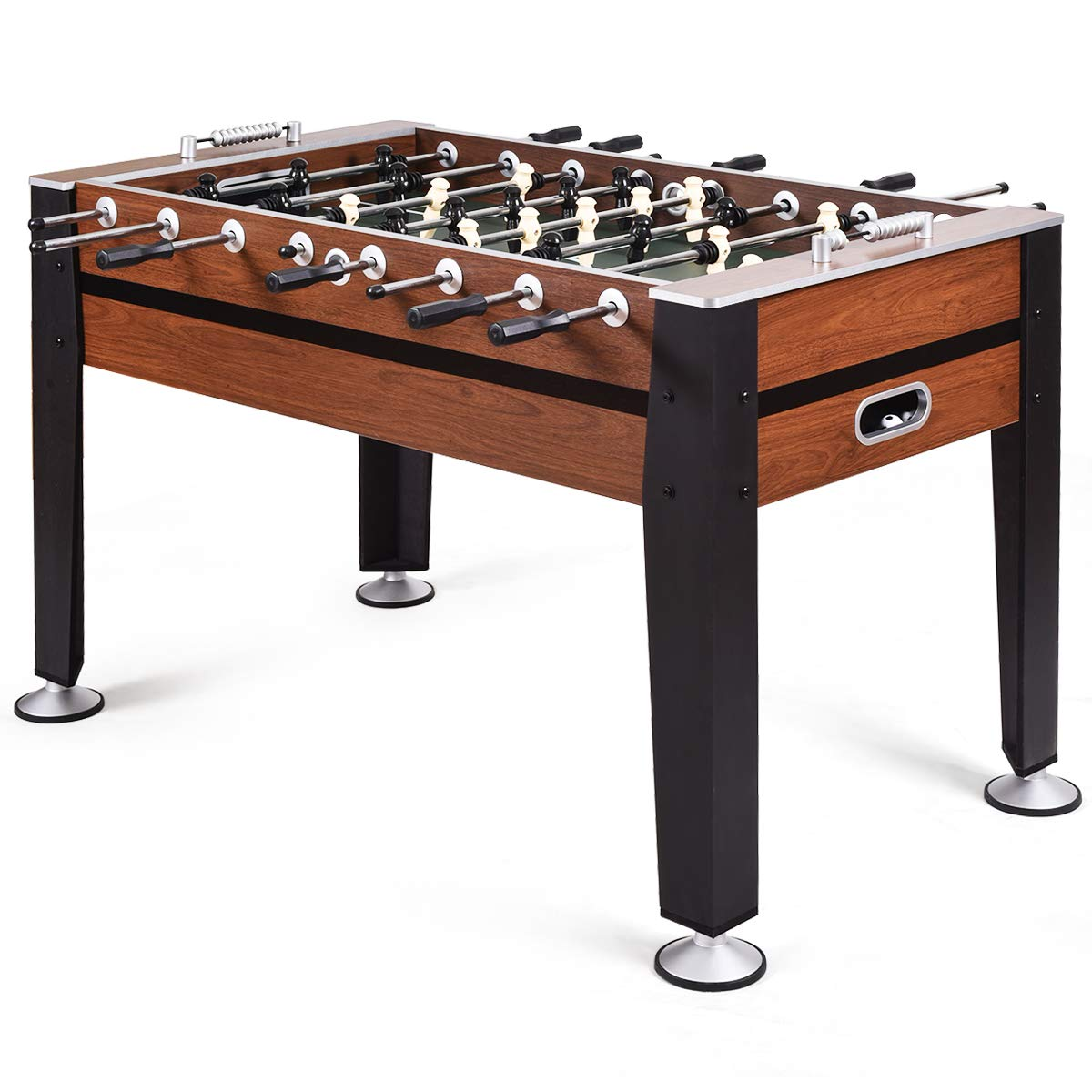 GOPLUS 54'' Foosball Table, Soccer Game Table Competition Sized Football Arcade for Indoor Game Room Sport by Goplus