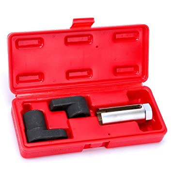 3 pc Oxygen Sensor Socket Wrench O2 Tool Remover Installer 6 Points Sockets Set