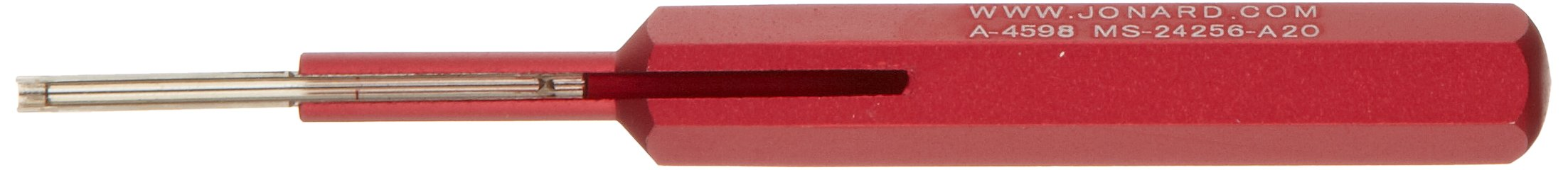 Jonard A-4598 Red Connector Insertion Tool, 0.040'' Contact