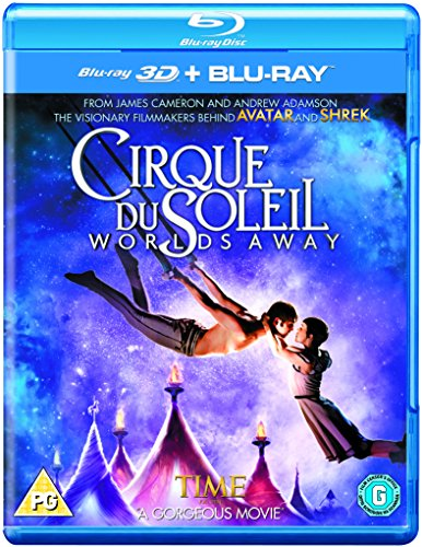 Cirque du Soleil: Worlds Away (3D & 2D) [ Blu-Ray, Reg.A/B/C Import - United Kingdom ]