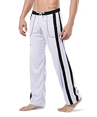 EKLENTSON Pantalones de chándal Hombre, de Malla, livianos ...