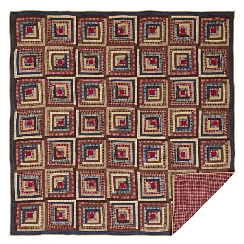 VHC Brands Braxton 29190 Quilt, Queen ()
