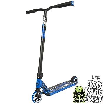 Madd Gear Kick Kaos - Patinete de motor, color azul: Amazon ...