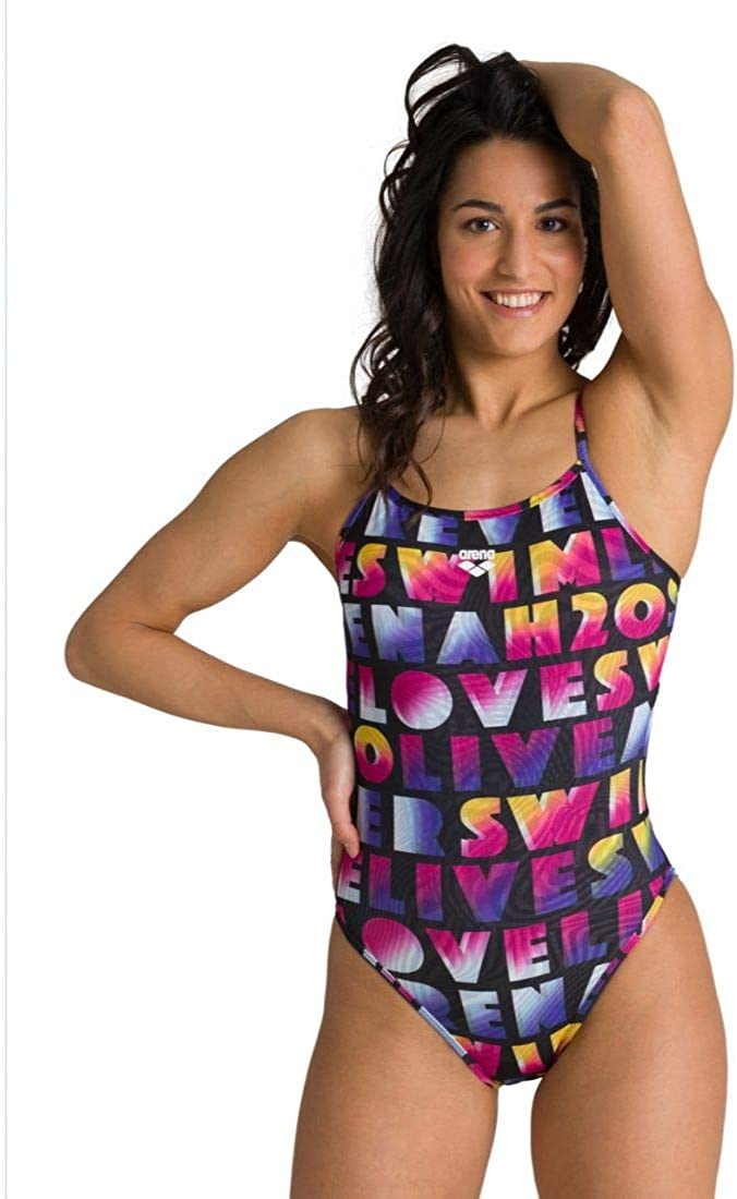 ARENA W Pop Reversible Challenge Back One Piece One Piece Mujer