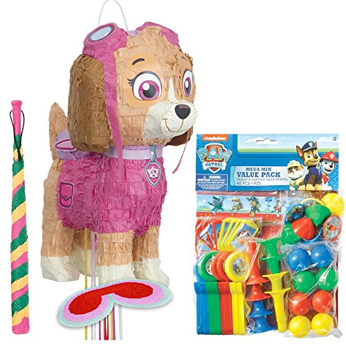 Costume SuperCenter Paw Patrol Pink Skye Deluxe Drum Pull Pinata Kit