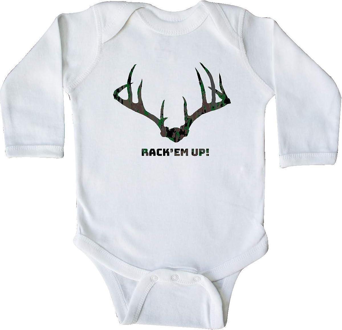 inktastic Rack Em Up in Camo Baby T-Shirt