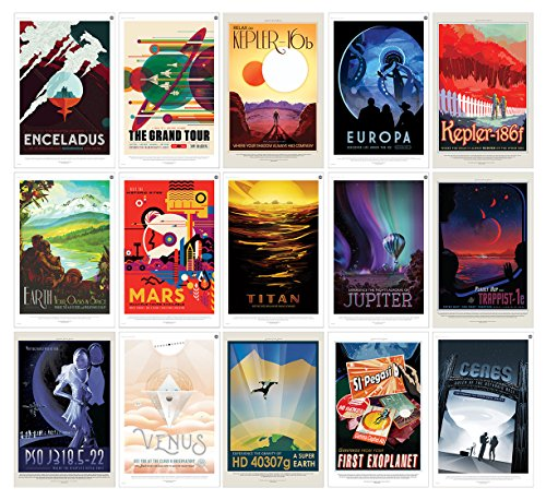 NASA Jpl Space Travel Posters All 15 Posters - Guaranteed Certified PosterOffice Prints with