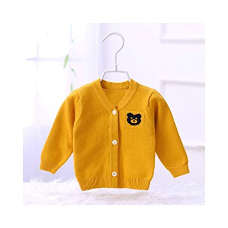 7e21828f0 ZYM Cotton fine wool knit cardigan sweater baby baby long-sleeved ...
