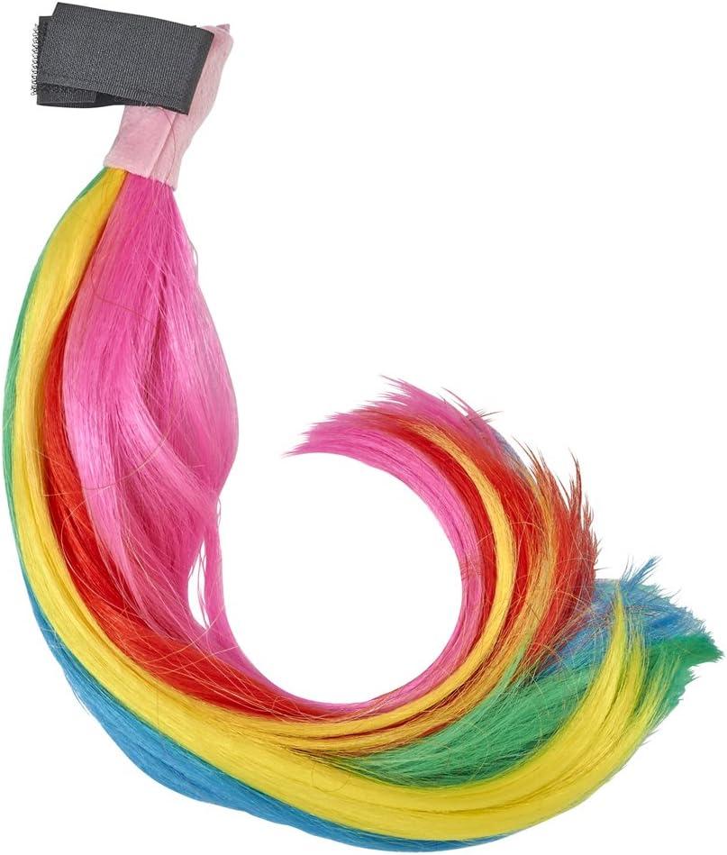 Andrea Moden Colorida Cola de Arcoiris para Disfraz de Unicornio ...
