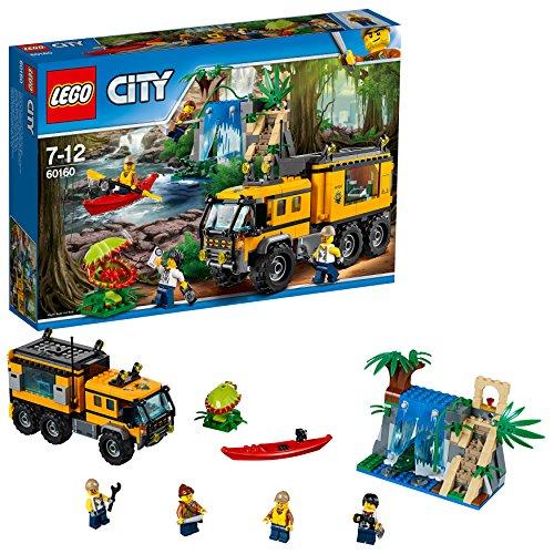 [해외] 레고 (LEGO) 시티 정글 탐험 이동 기지 60160