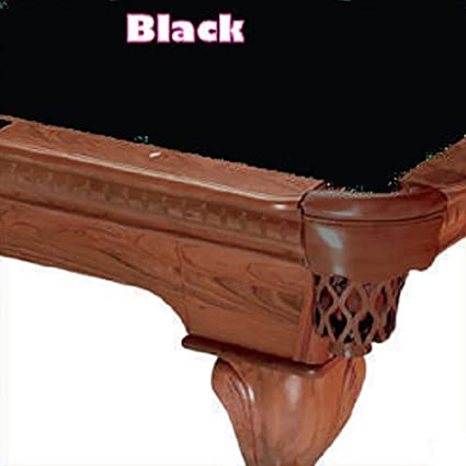 Merveilleux 8u0027 Simonis 760 Black Billiard Pool Table Cloth Felt