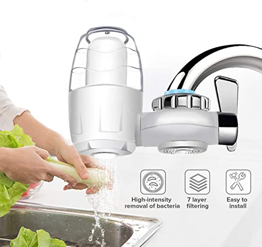 FAY Sistema purificador de Agua del Grifo, Interruptor de Filtro ...
