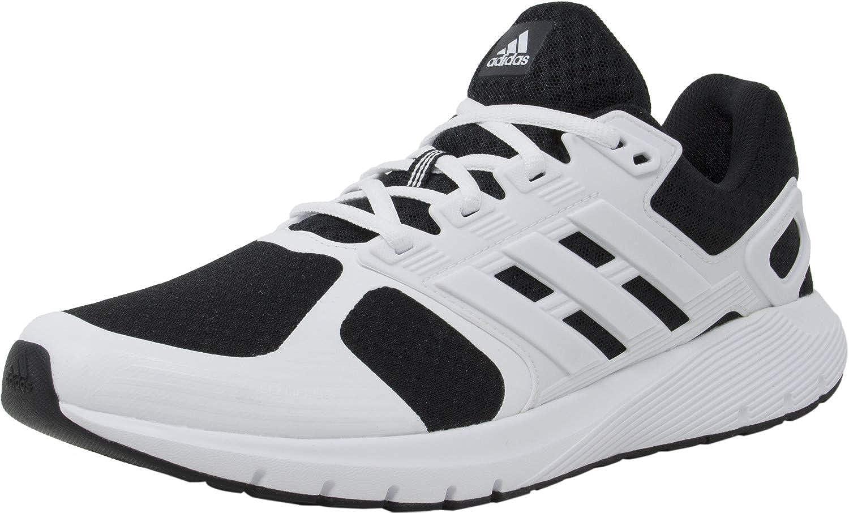 Blanc Noir adidas Duramo 8 M Synthétique Chaussure de Tennis 43.5 EU