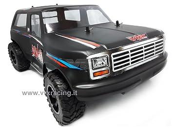 Coyote 1/10 SUV Off-road eléctrico 4 WD con doble marco de metal