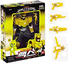 Miniforce Max Korean Robot Action Figure Yellow 5.5