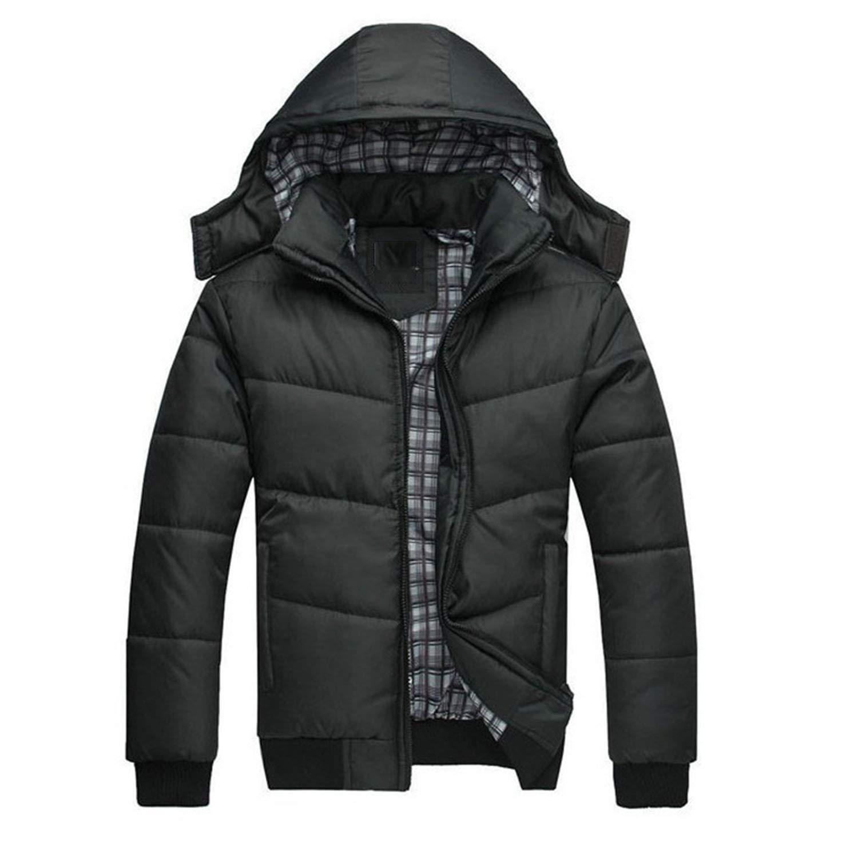 White Mens Winter Down Jacket Men Coats Doudoune Homme Hiver Marque Casual  Fashion Slim Down Alternative