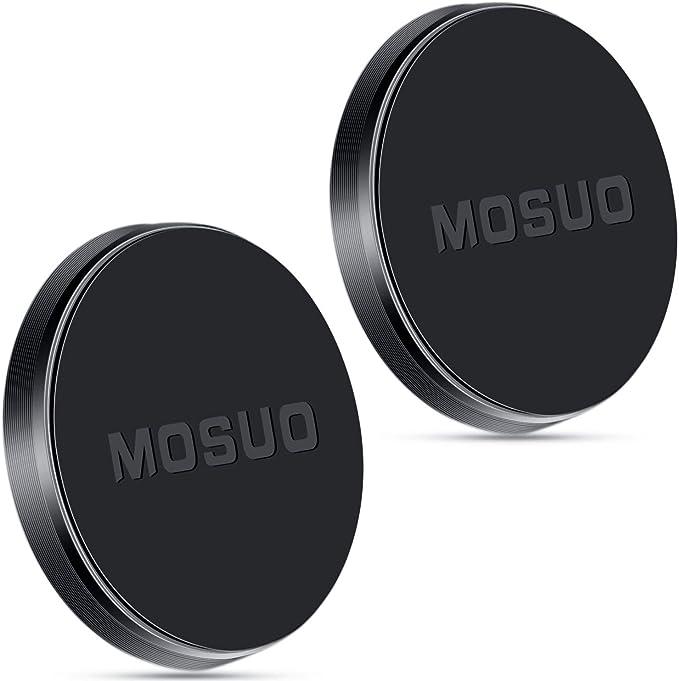 MOSUO 2 Pack Soporte Movil Coche Magnético, Universal Iman para ...