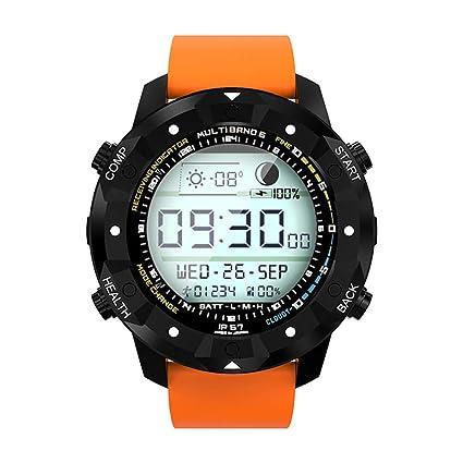 HAJZF Reloj Inteligente Similar Les1 Ram1gb + rom16gb SmartWatch Mtk6580 400 * 400 Android 5,