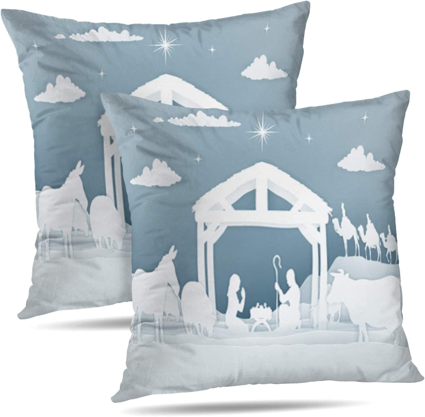 Set of 2 LILALO Throw Pillow Covers