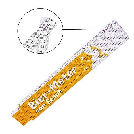 Glieder-Ma/ßstab mit Namen bedruckt Zollstock mit Namen Collin f/ür M/änner Hochwertiges Marken-Meterma/ß Viele Namen zur Auswahl