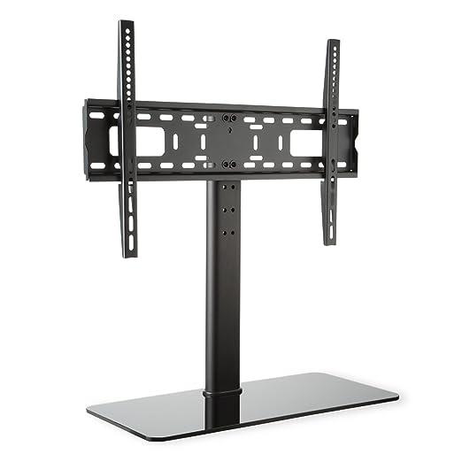 3 opinioni per auna Supporto TV Da Terra Con Staffa TV LCD LED Taglia L (Altezza 76 cm,