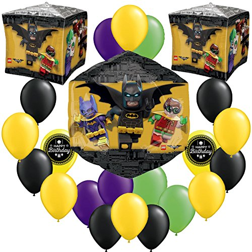 LEGO Batman Movie Party Balloon Decorating Bundle