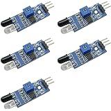 電子太郎 LM393 IR赤外線障害物回避センサモジュール Arduino用 5個セット