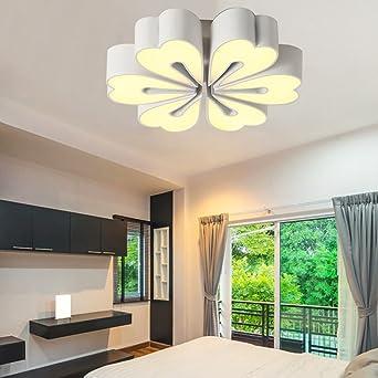 Deckenleuchten Einfache Moderne LED Kreative Blume Blending Ton Eisen Deckenleuchte Schlafzimmer Wohnzimmer Studie