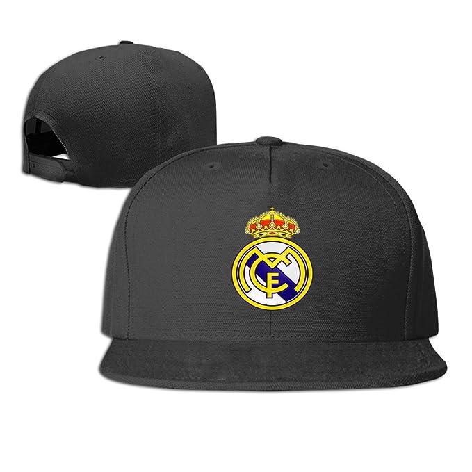 JBECuooP Los Vikingos Real Madrid C.F. Club de fútbol Gorra - Negro -: Amazon.es: Libros