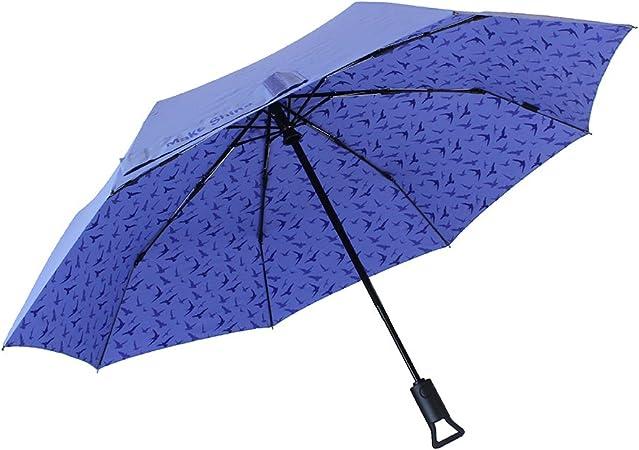 DOENR Compact Travel Umbrella Love Swing Sun and Rain Auto Open Close Umbrellas Windproof UV Protection Umbrella
