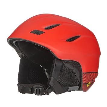 Giro Nine MIPS Esquiar, Snowboard Negro, Rojo - Cascos de protección para Deportes (
