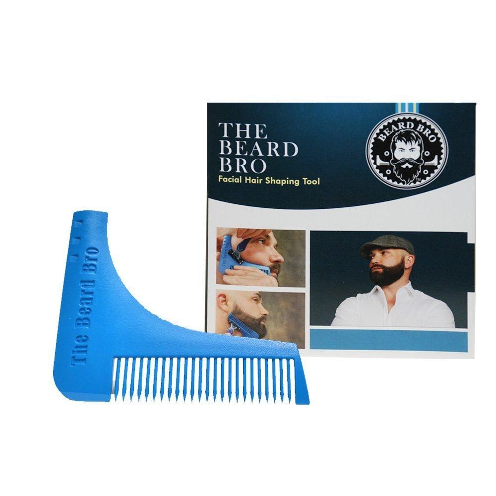 7 Tools in 1 Beard Bro Facial Hair Shaping Tool- Beard Styles / Neck Back of Neck Shaper