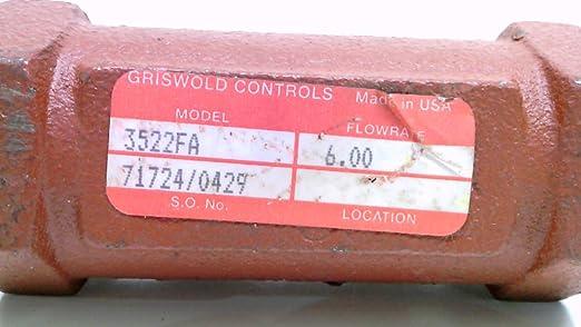 GRISWOLD CONTROLS 3524FA FLOW CONTROL VALVE NEW* #105235