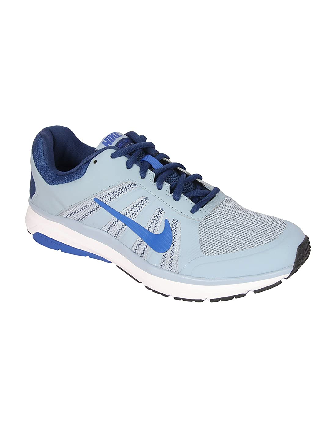 timeless design 63b82 6b9a8 Nike Men's DART 12 MSL Blue Running Shoes(UK-8): Buy Online at Low Prices  in India - Amazon.in
