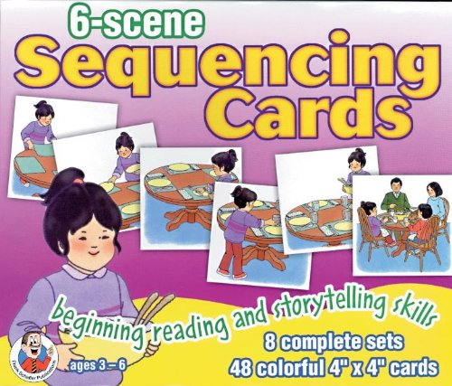6-Scene Sequencing Cards by Frank Schaffer
