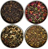 Heavenly Tea Leaves Tea Sampler Gift Set, 4 Bestselling Cans