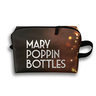 Mary Poppin Bottles Travel Bag Multifunction Portable Toiletry Bag Organizer Storage