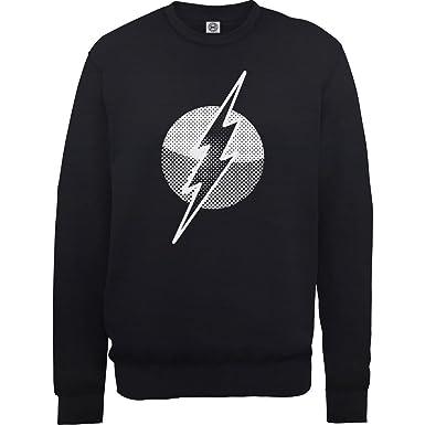 DC Comics Originals Flash Spot Logo, Sudadera para Hombre: Amazon.es: Ropa y accesorios