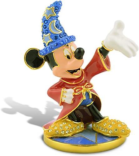 Limited Edition Sorcerer Mickey Mouse Swarovski Jeweled Figurine by Arribas
