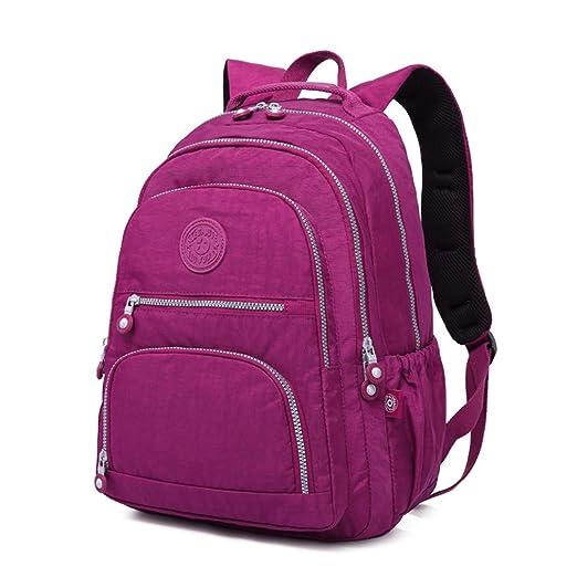 Amazon.com   Female Backpack Women School Teenage Girls Mochila Feminina Laptop Bagpacks Travel Bags Casual black 31CMX14CMX42CM 989   Backpacks