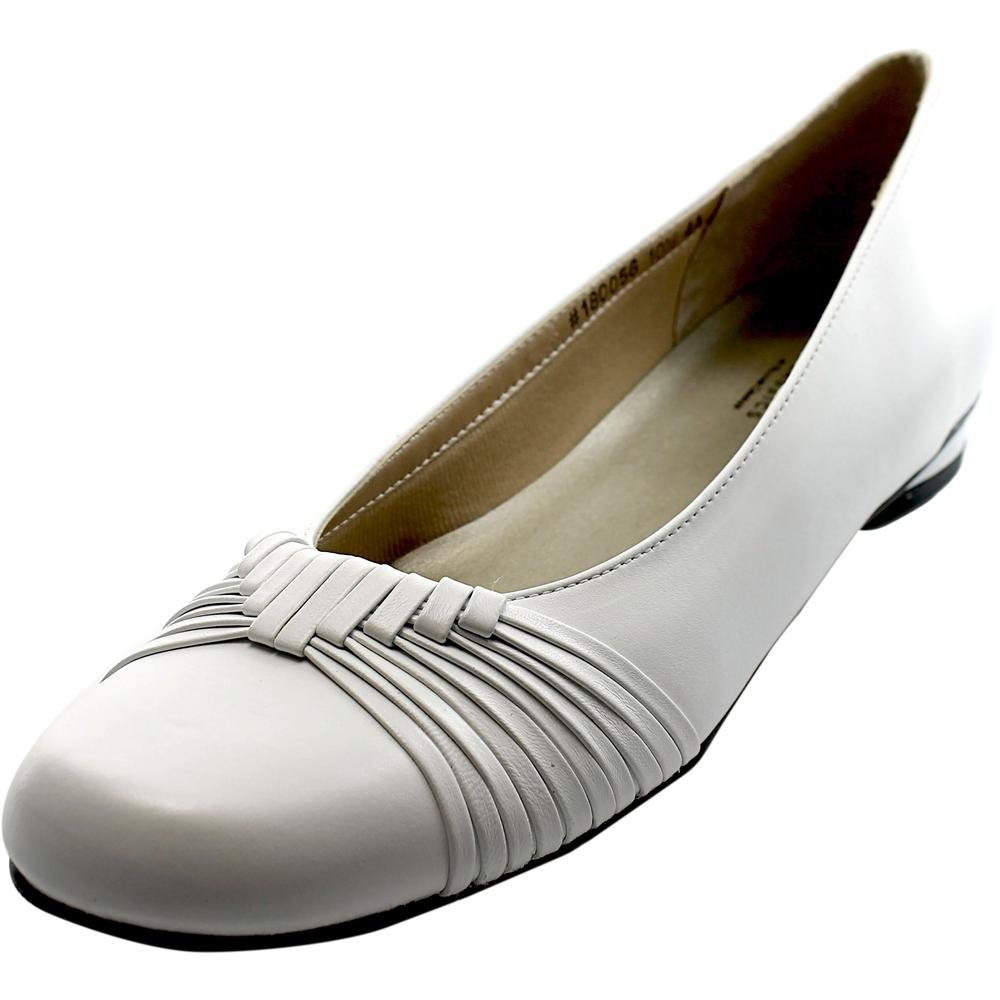 Mark Lemp Classics MARLENE Women's Pump B019FY8RNI 10 4A US|White
