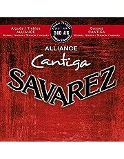 Savarez 510AR Nylon Classical Guitar Strings, Normal Tension