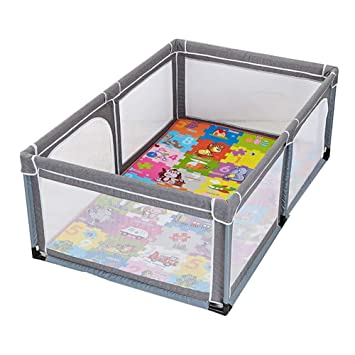 Attrayant Playpen Play Yard Toddler Playard Play Yard Indoor Baby Playpen Portable  Child Safety Fence Play Pen
