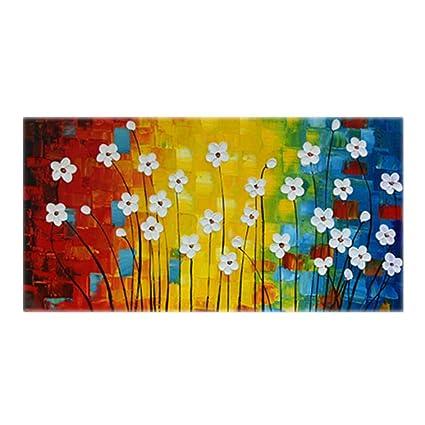AQAWAS Modello astratto di fiori colorati Serie Art Color astrazione ...