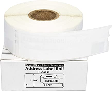 US STOCK 4 Roll Address Label 30252 for DYMO LabelWriters 330 400 4XL 450 Turbo