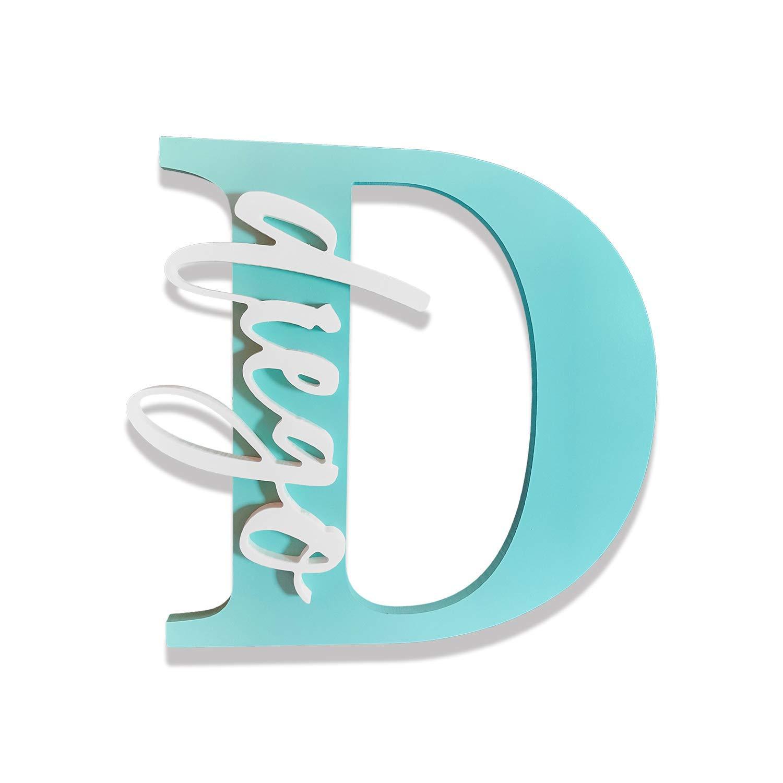 Letras Iniciales y Nombres Decorativos Personalizados para ...