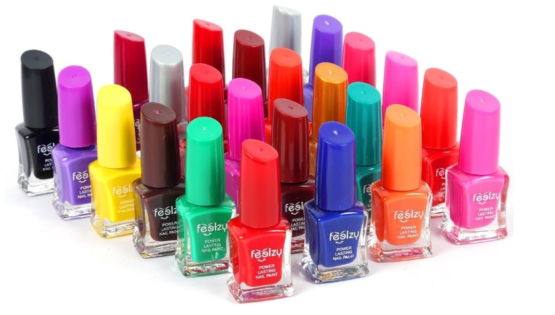 Foolzy® Pack of 24 Nail Paint Polish (FOO-NP-TP11): Amazon.in: Beauty