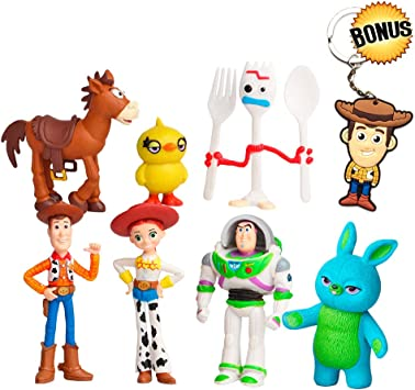 Amazon.com: Toy Story Toys – Juego de 7 figuras de acción ...