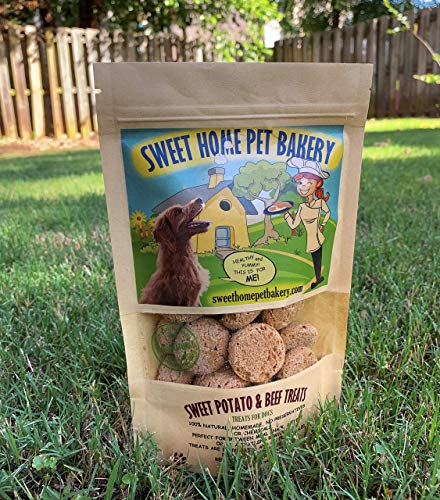 SWEET POTATO & BEEF DOG TREATS